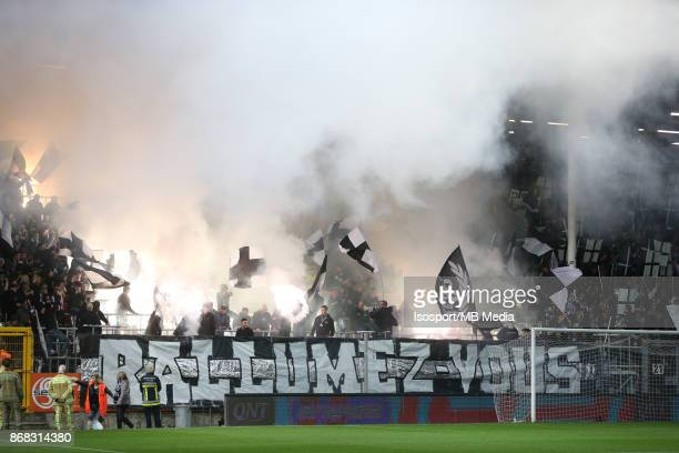 20171027 Charleroi Belgium / Sporting Charleroi v Kaa Gent / 'nSupporters'nFootball Jupiler Pro League 2017 2018 Matchday 13 / 'nPicture by Vincent...