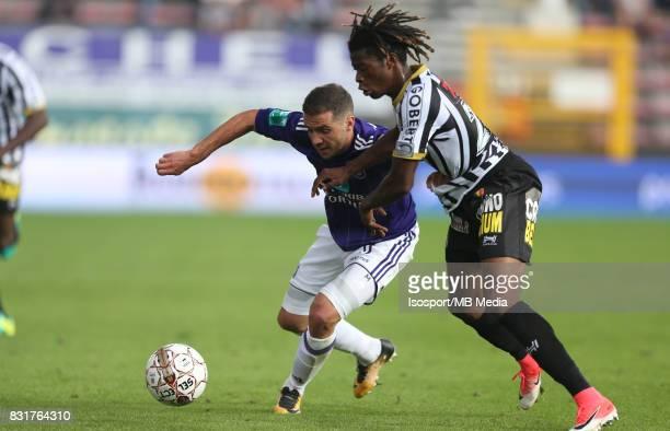 20170813 Charleroi Belgium / Sporting Charleroi v Rsc Anderlecht / 'nAlexandru CHIPCIU Nurio FORTUNA'nFootball Jupiler Pro League 2017 2018 Matchday...