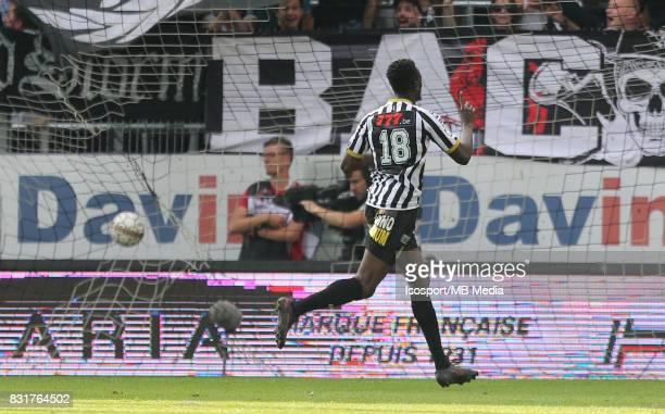 20170813 Charleroi Belgium / Sporting Charleroi v Rsc Anderlecht / 'nAmara BABY Celebration'nFootball Jupiler Pro League 2017 2018 Matchday 3 /...