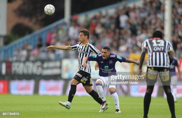 20170813 Charleroi Belgium / Sporting Charleroi v Rsc Anderlecht / 'nCristian BENAVENTE Nicolae STANCIU'nFootball Jupiler Pro League 2017 2018...