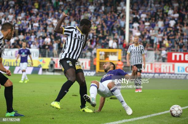 20170813 Charleroi Belgium / Sporting Charleroi v Rsc Anderlecht / 'nCristophe DIANDY Ivan OBRADOVIC'nFootball Jupiler Pro League 2017 2018 Matchday...
