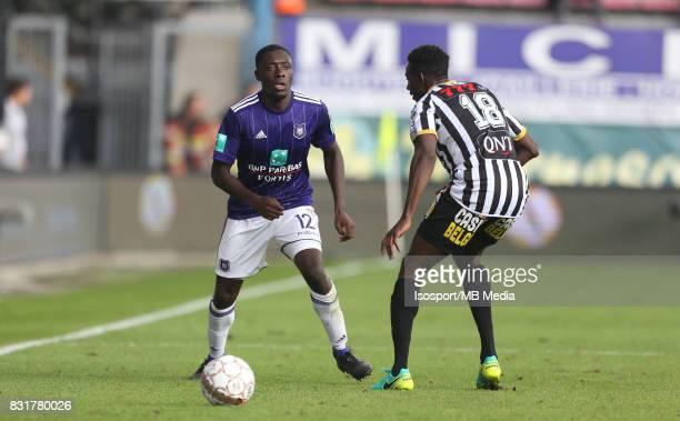20170813 Charleroi Belgium / Sporting Charleroi v Rsc Anderlecht / 'nDennis APPIAH Amara BABY'nFootball Jupiler Pro League 2017 2018 Matchday 3 /...