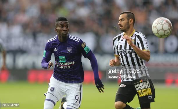 20170813 Charleroi Belgium / Sporting Charleroi v Rsc Anderlecht / 'nHenry ONYEKURU'nFootball Jupiler Pro League 2017 2018 Matchday 3 / 'nPicture by...