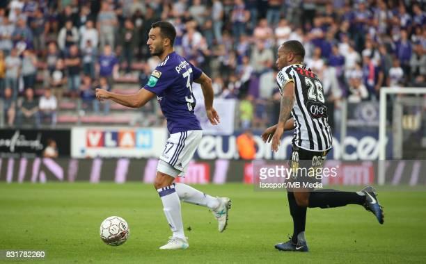 20170813 Charleroi Belgium / Sporting Charleroi v Rsc Anderlecht / 'nIvan OBRADOVIC Marco ILAIMAHARITRA'nFootball Jupiler Pro League 2017 2018...