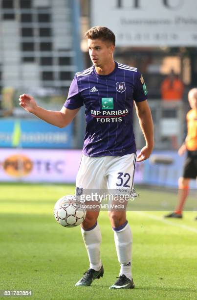 20170813 Charleroi Belgium / Sporting Charleroi v Rsc Anderlecht / 'nLeander DENDONCKER'nFootball Jupiler Pro League 2017 2018 Matchday 3 / 'nPicture...