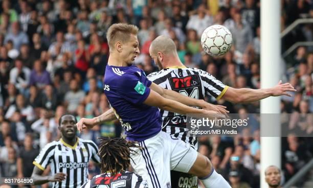 20170813 Charleroi Belgium / Sporting Charleroi v Rsc Anderlecht / 'nLukasz TEODORCZYK Dorian DESSOLEIL'nFootball Jupiler Pro League 2017 2018...