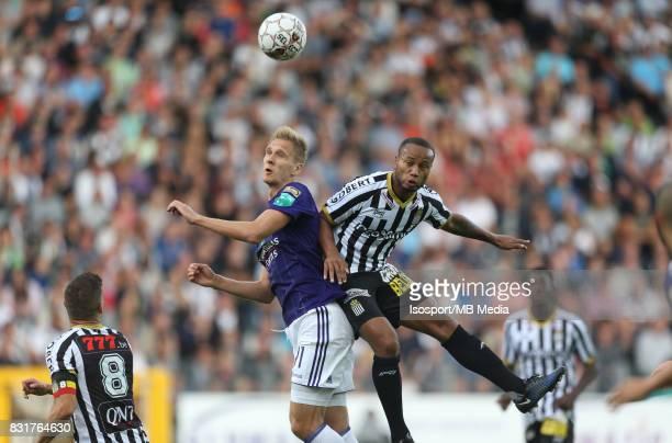 20170813 Charleroi Belgium / Sporting Charleroi v Rsc Anderlecht / 'nLukasz TEODORCZYK Marco ILAIMAHARITRA'nFootball Jupiler Pro League 2017 2018...