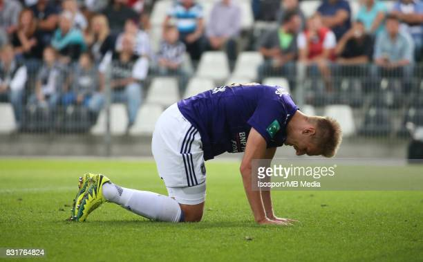 20170813 Charleroi Belgium / Sporting Charleroi v Rsc Anderlecht / 'nLukasz TEODORCZYK Deception'nFootball Jupiler Pro League 2017 2018 Matchday 3 /...