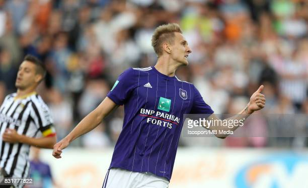 20170813 Charleroi Belgium / Sporting Charleroi v Rsc Anderlecht / 'nLukasz TEODORCZYK 'nFootball Jupiler Pro League 2017 2018 Matchday 3 / 'nPicture...