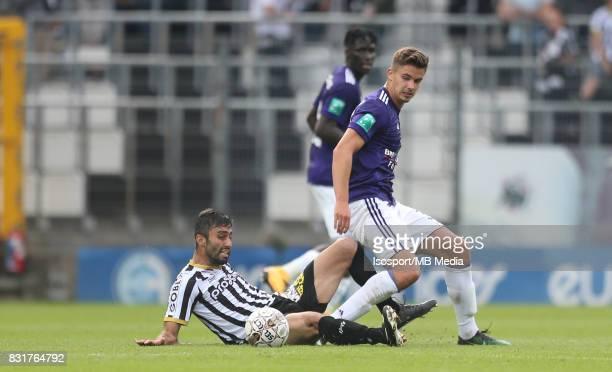 20170813 Charleroi Belgium / Sporting Charleroi v Rsc Anderlecht / 'nMarco ILAIMAHARITRA Leander DENDONCKER'nFootball Jupiler Pro League 2017 2018...