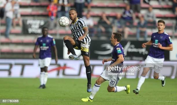 20170813 Charleroi Belgium / Sporting Charleroi v Rsc Anderlecht / 'nMarco ILAIMAHARITRA Sven KUMS'nFootball Jupiler Pro League 2017 2018 Matchday 3...