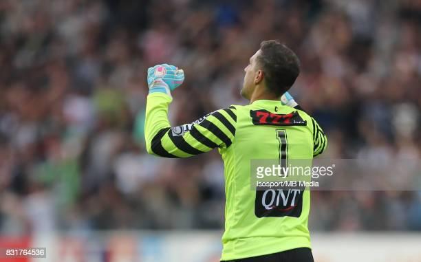 20170813 Charleroi Belgium / Sporting Charleroi v Rsc Anderlecht / 'nNicolas PENNETEAU Celebration'nFootball Jupiler Pro League 2017 2018 Matchday 3...