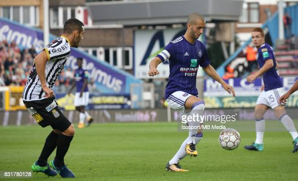 20170813 Charleroi Belgium / Sporting Charleroi v Rsc Anderlecht / 'nSofiane HANNI'nFootball Jupiler Pro League 2017 2018 Matchday 3 / 'nPicture by...