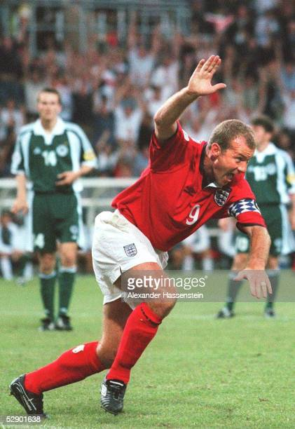 EURO 2000 Charleroi ENGLAND DEUTSCHLAND 10 TORSCHUETZE Alan SHEARER/ENG