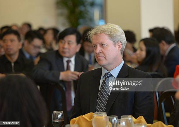 Charles 9th Earl Spencer attends ChinaWeek's Business Summit VIP Dinner at Empress Pavilion on May 11 2016 in Los Angeles California