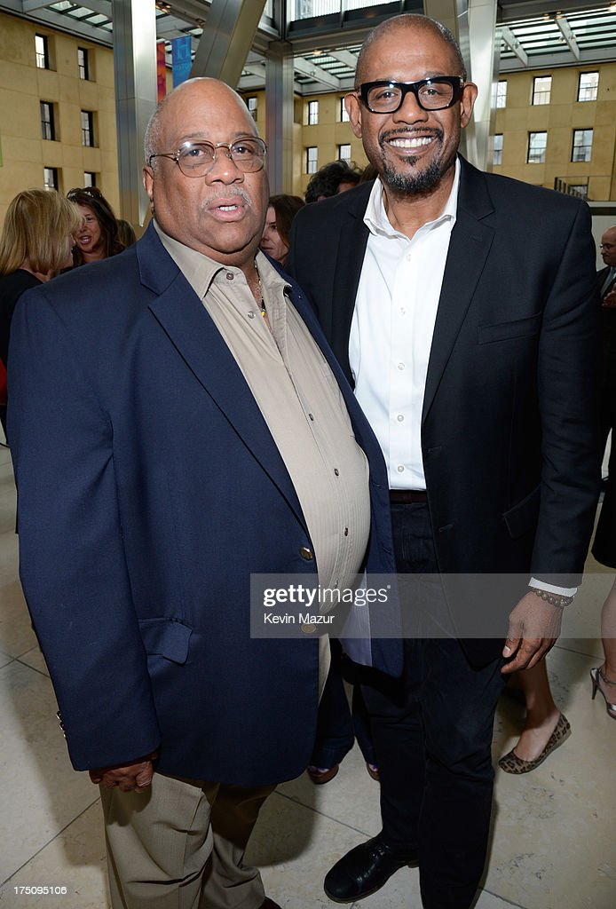 Charles Allen and <a gi-track='captionPersonalityLinkClicked' href=/galleries/search?phrase=Forest+Whitaker&family=editorial&specificpeople=226590 ng-click='$event.stopPropagation()'>Forest Whitaker</a> attend the O, The Oprah Magazine's special advance screening of 'Lee Daniels' The Butler' at The Hearst Tower on July 31, 2013 in New York City.