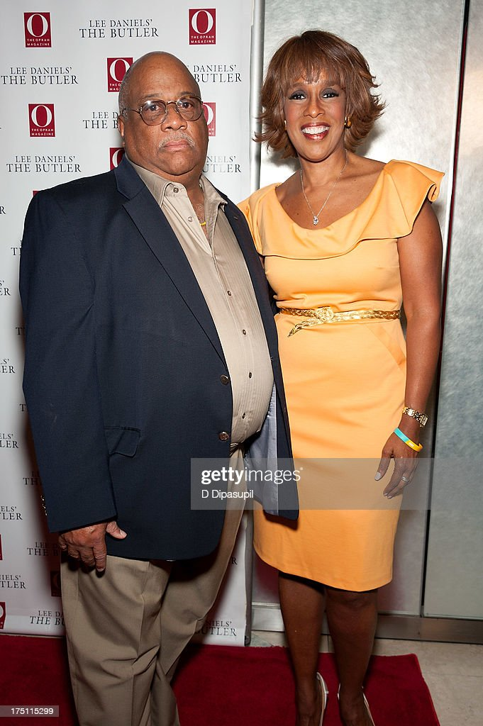 Charles Allen (L) and <a gi-track='captionPersonalityLinkClicked' href=/galleries/search?phrase=Gayle+King&family=editorial&specificpeople=215469 ng-click='$event.stopPropagation()'>Gayle King</a> attend 'The Butler' screening at Hearst Tower on July 31, 2013 in New York City.