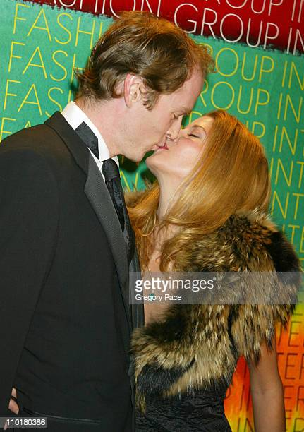 Charles Askegard and Candace Bushnell during Fashion Group International Presents The 19th Annual Night Of The Stars Honoring 'The Provocateurs Those...
