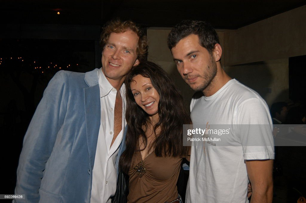 Charles Askegard Jaid Barrymore and Scott Sartiano attend Opening of LOFT at Loft on September 26 2005 in New York City