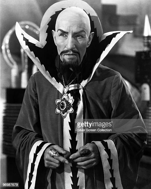 Charles B Middleton as Ming the Merciless in the television series 'Flash Gordon' 1936