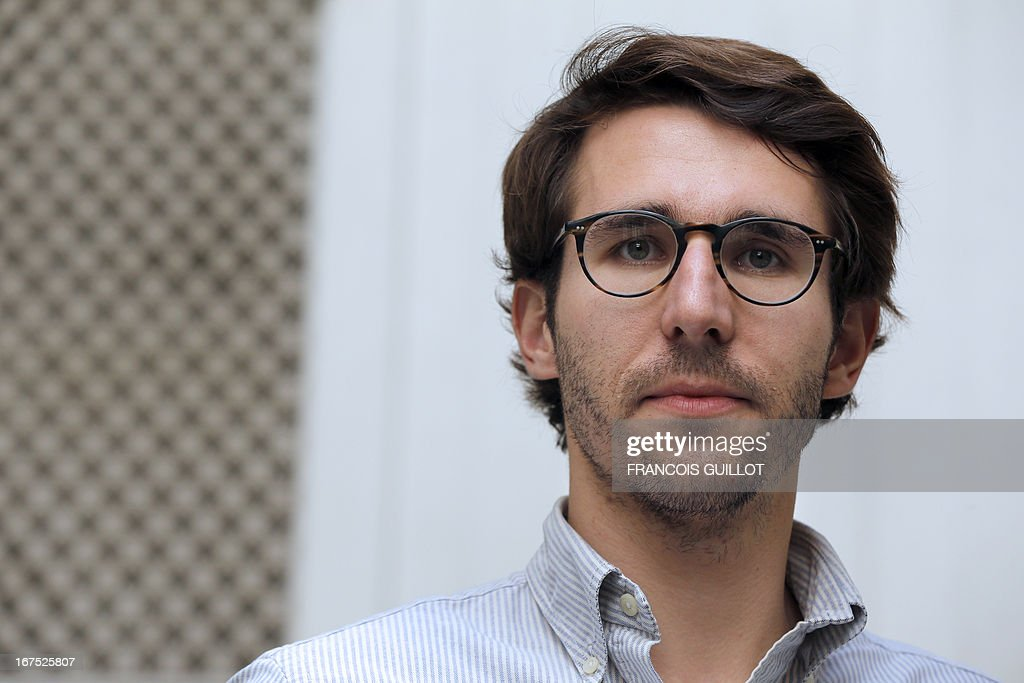 Charles Ballard, a former hostage in Afghanistan poses on April 24, 2013 in Paris. Charles Ballard left a career in finance to do aid work in Afghanistan. Back home in France after being held hostage for 71 days in a toilet, he says he has no regrets.