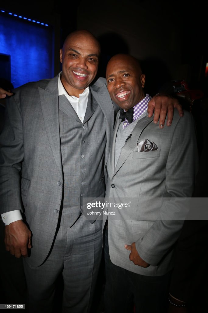 Charles Barkley and Kenny Smith attend the Kenny 'The Jet' Smith all-star party during NBA All-Star Weekend 2014 at Metropolitan Nightclub on February 14, 2014 in New Orleans, Louisiana.
