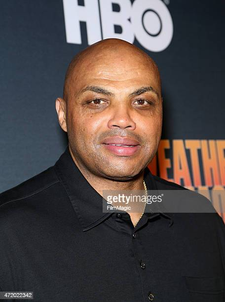 Charles Barkley attends the SHOWTIME And HBO VIP PreFight Party for 'Mayweather VS Pacquiao'at MGM Grand Hotel Casino at on May 2 2015 in Las Vegas...