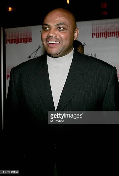 Charles Barkley during 2007 NBA AllStar in Las Vegas RumJungle MVP Party at RumJungle Nightclub in Las Vegas Nevada United States