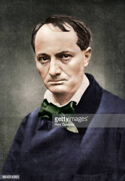 Charles Baudelaire influential French poet critic and translator mid19th century Portrait of Baudelaire author of Les fleurs du mal Artist Unknown