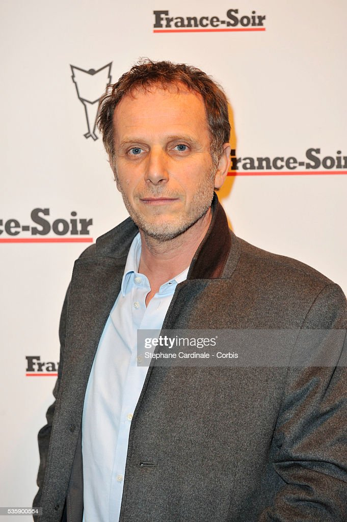 Charles Berling attends France Soir Launch Party in Paris.