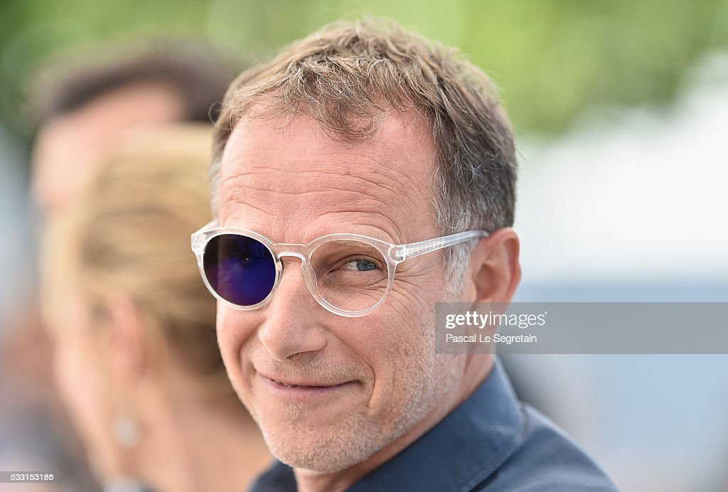 Charles Berling attends the 'Elle' Photocall during the 69th annual Cannes Film Festival at the Palais des Festivals on May 21 2016 in Cannes France