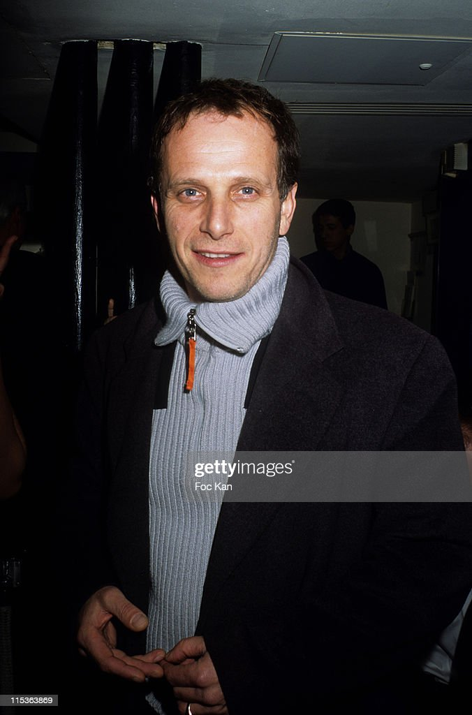 Charles Berling during Hitachi HD Screen Launching Party at Alcazar Restaurant Club in Paris France