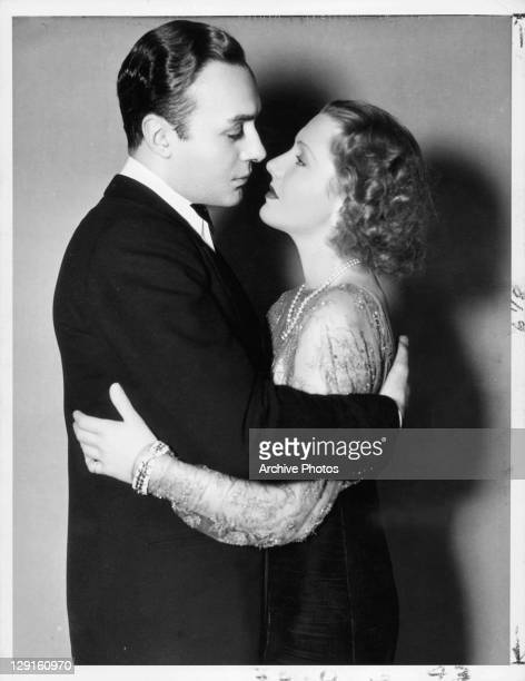 Charles Boyer And Jean Arthur embrace in a scene from the film 'History Is Made At Night' 1937