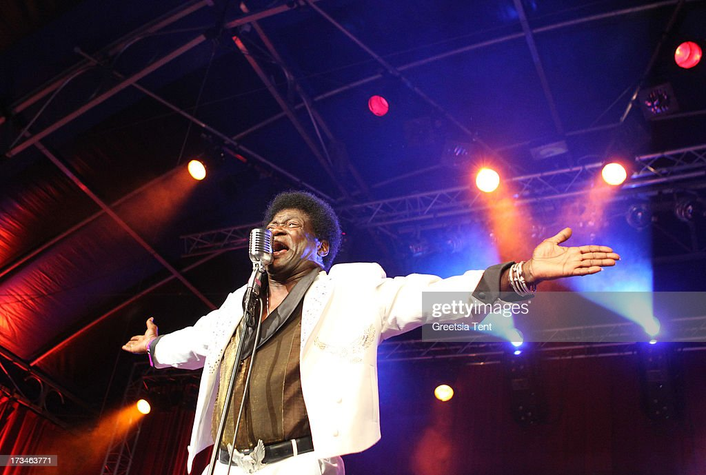 Charles Bradley performs at day three of the North Sea Jazz Festival at Ahoy on July 14, 2013 in Rotterdam, Netherlands.