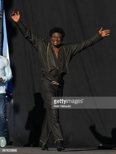 Charles Bradley performs at FYF Fest 2016 Day 2 at the Los Angeles Sports Arena on August 28 2016 in Los Angeles California