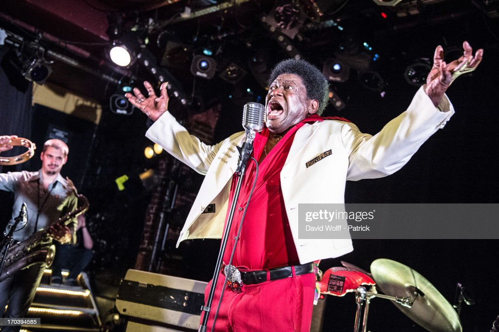 Charles Bradley performs at La Maroquinerie on June 12, 2013 in Paris, France.