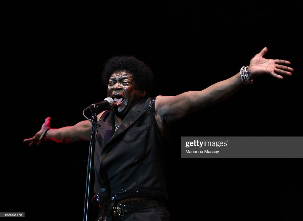 Charles Bradley performs on stage on opening day of the Sydney Festival January 5, 2013 in Sydney, Australia. Sydney festival opening, previously 'Sydney Festival First Night', was scaled back from previous years, when crowds reached as many as 60,000 for launch.