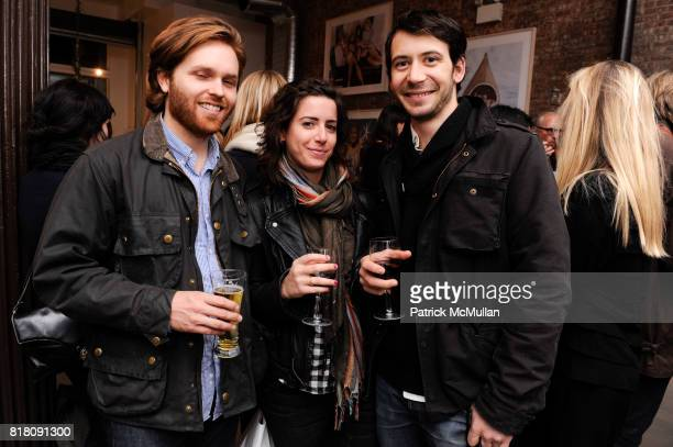 Charles Brill Meryll Lions and Theo Richardson attend Opening of DEDON'S New York Showroom Featuring Works by BRUCE WEBER at DEDON November 17th 2010...