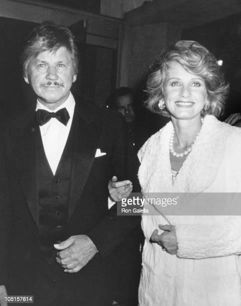 Charles Bronson Jill Ireland during BBC Television 50th Anniversary at Ambassador Hotel in Los Angeles CA United States
