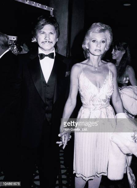 Charles Bronson Wife during Thalian's Ball Honors Mary Martin at The Century Plaza Hotel in Century City California United States