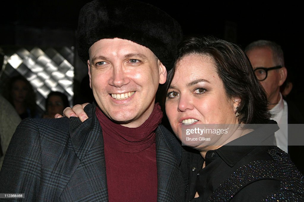 Charles Busch and Rosie O'Donnell during 'Taboo' Opening Night on Broadway Arrivals and After Party at The Plymouth Theater and Roxy Nightclub in New...