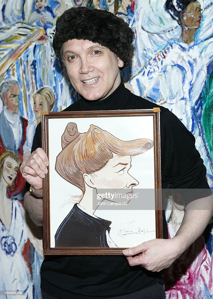 Charles Busch attends the 'Tea At Five' reading at Sardi's on November 18 2011 in New York City