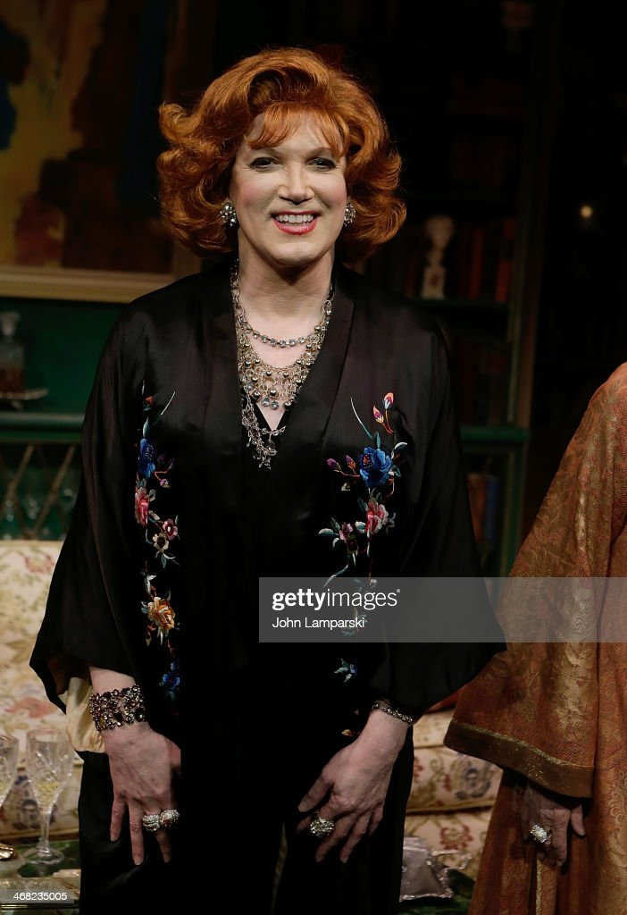 Charles Busch performs at 'The Tribute Artist' opening night on February 9 2014 in New York City