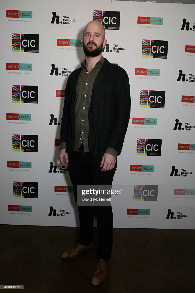 Charles Cave attends the h100 Awards dinner at The Hospital Club on October 1 2015 in London England