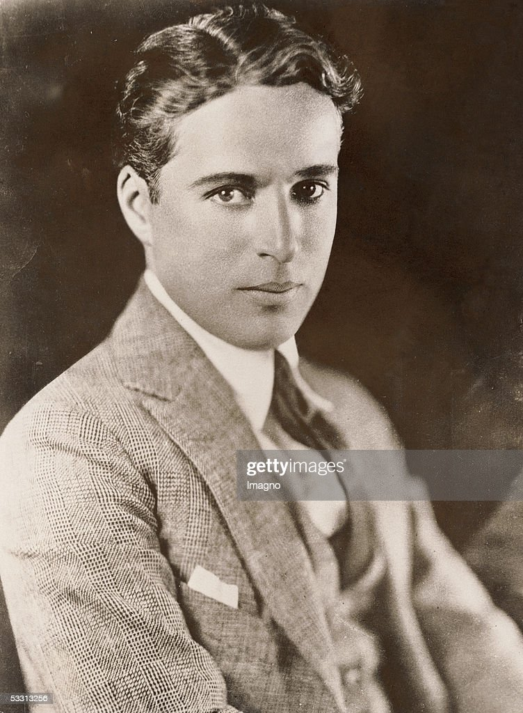 Charles Chaplin, English actor and director. Photography. 1925. (Photo by Imagno/Getty Images) [Charles Chaplin, englischer Schauspieler und Regisseur. Photographie. 1925.]
