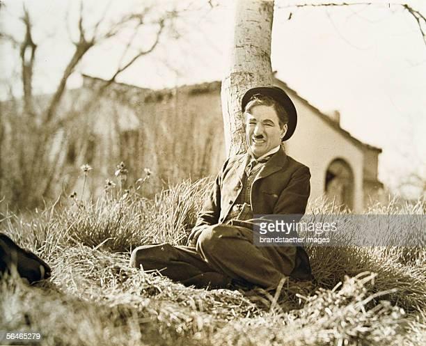 Charles Chaplin english actor and director Photography by Max Munn Autrey [Charles Chaplin englischer Schauspieler und Regisseur Photographie von Max...