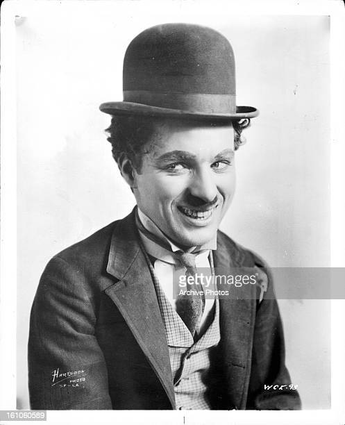 Charles Chaplin publicity portrait for the short 'A Night Out' 1915