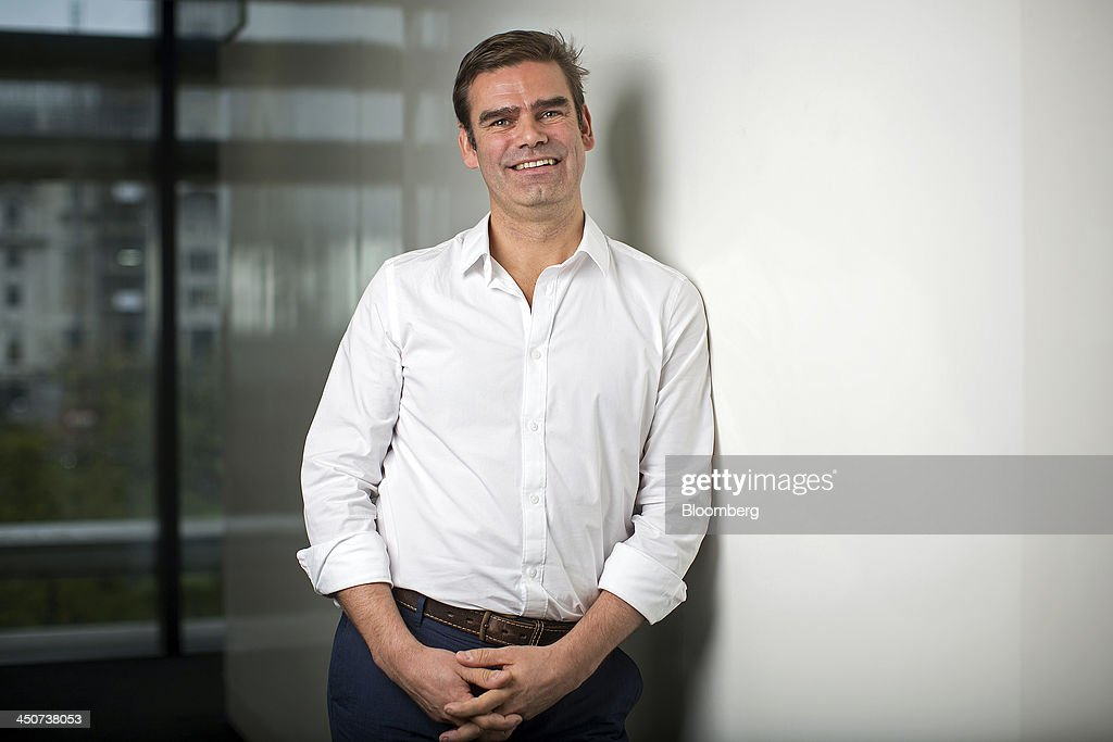 Charles 'Charlie' Hunt, chief executive officer of the Duvet & Pillow Warehouse Ltd., poses for a photograph following a Bloomberg Television interview in London, U.K., on Wednesday, 20, 2013. U.K. government figures show economic growth accelerated to 0.8 percent in the third quarter, the housing market is strengthening and about 60,000 jobs are being created every month, boosting taxes from company profits, payrolls, property purchases and sales. Photographer: Simon Dawson/Bloomberg via Getty Images