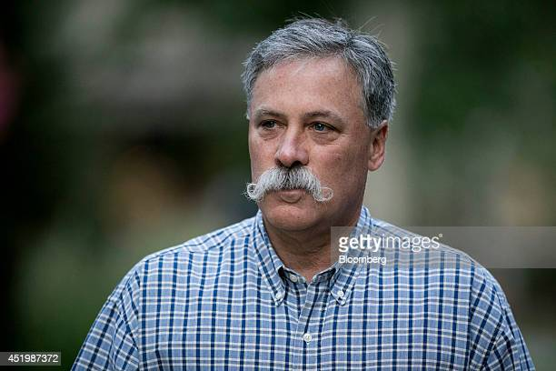 Charles 'Chase' Carey deputy chairman president and chief operating officer of News Corp arrives to a morning session during the Allen Co Media and...