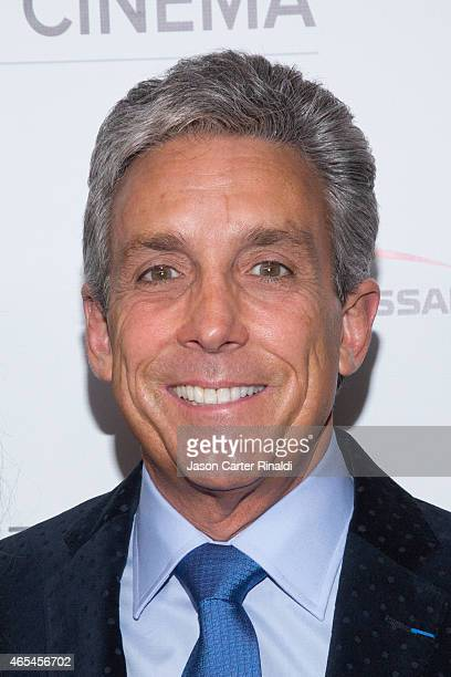 Charles Cohen attends '3 Hearts' New York Premiere at Alice Tully Hall on March 6 2015 in New York City